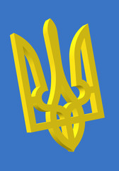 Ukraine National Emblem