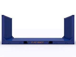 Seitenansicht Flat Rack