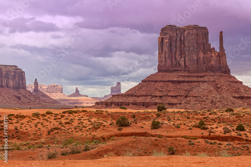 In de dag Landschap Monument Valley Landscape