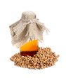 Essential oil of a coriander.