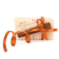 Luxurious handmade cinnamon soap