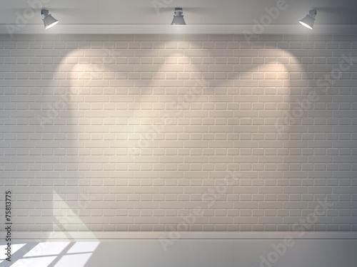 Brick Wall Realistic - 75813775