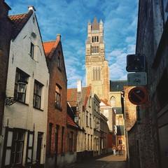 Bruges cityscape. Belgium.