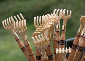 Traditional rakes of Galicia