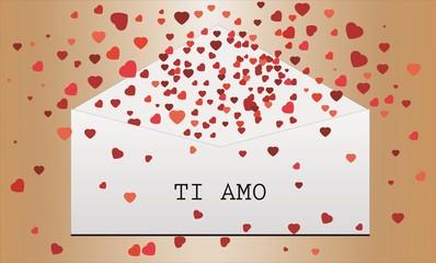 Stampa Biglietto Auguri Ti Amo 14 febbraio san valentino