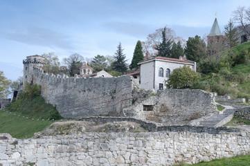 Old Medieval Kalemegdan Fortress Belgrade Serbia