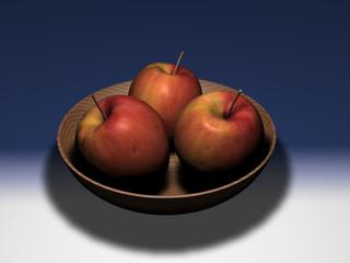 Ciotola di mele
