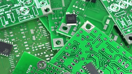 Not loopable rotating Electronic Components