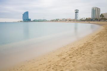 Seascape in the city, Barcelona
