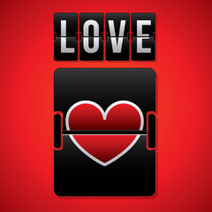 Love design, vector illustration.