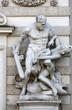 Hercules statue at the Royal Palace Hofburg in Vienna, Austria