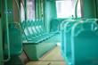Tram interior, free seats - 75819791