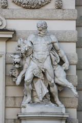 Hercules and Cerberus, Hofburg in Vienna, Austria