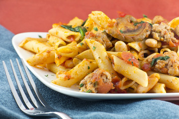 Penne Nostra Pasta with Mushrooms