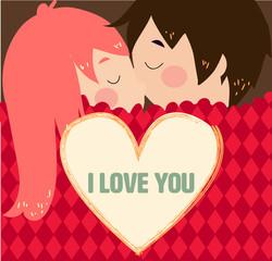 kiss valentines