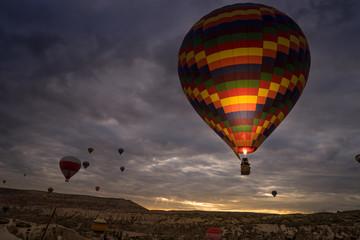 Hot air balloon, Cappadocia Turkey