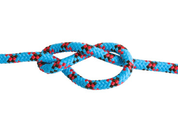 Figure-eight knot tie