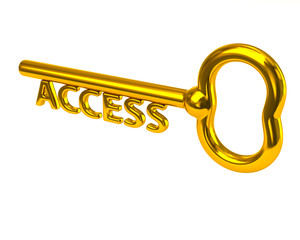 Gold access key