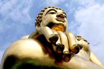 Golden triangle's big Buddha
