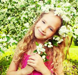 Child at spring