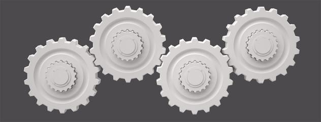 Gears, 3D