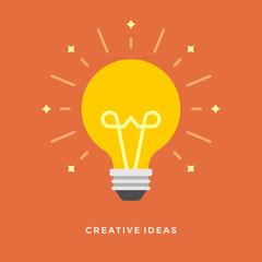 Flat design vector business Creative idea