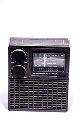 Old Retro Vintage 70's Radio