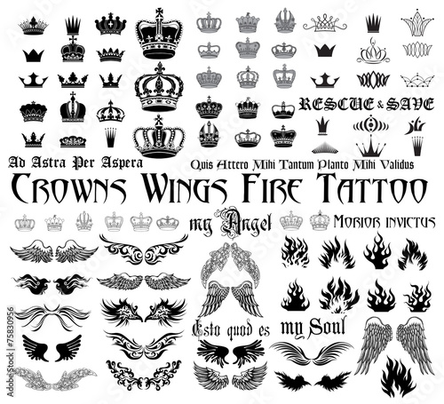 Tattoo set - 75830956