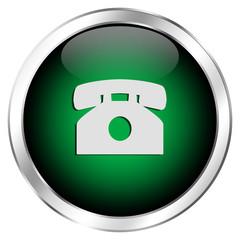 Grüner Anrufbutton