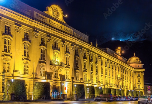 The Hofburg (Imperial Palace) in Innsbruck - Austria - 75831559