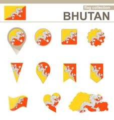 Bhutan Flag Collection