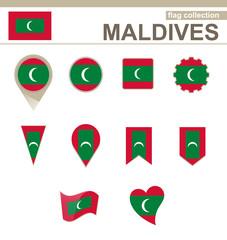 Maldives Flag Collection