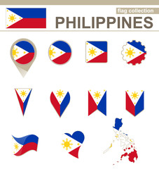 Philippines Flag Collection