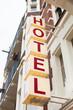 Leinwanddruck Bild - Hotel