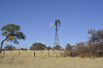 Water pump, Windmill, Namibia, Africa