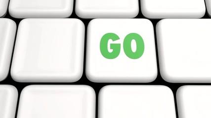 GO Tastatur Animation