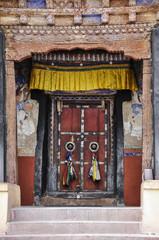 Monastery door Ladakh