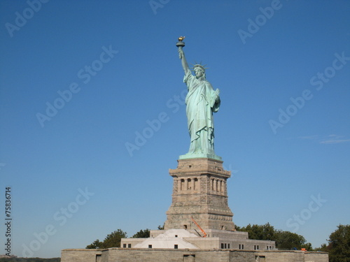 Leinwanddruck Bild Statue of Liberty 3
