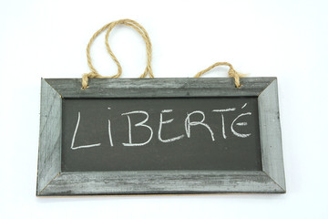 ardoise liberté