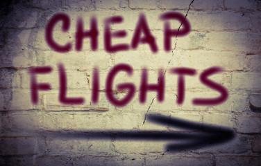 Cheap Flights Concept