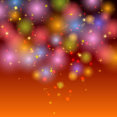 Abstract festive shining background