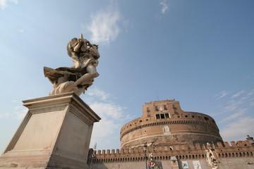 サンタンジェロ城 石像   Castel Sant'Angelo