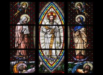 Transfiguration on Mount Tabor, Votiv Kirche in Vienna