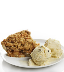 Apple Pie And Ice Cream