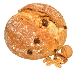 Walnut And Date Cob Bread