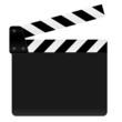 Filmklappe offen
