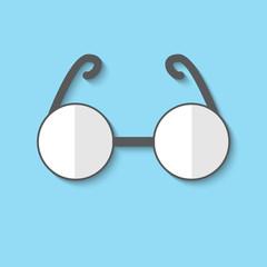 Vector glasses web icon