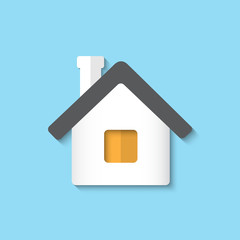 Vector home icon background