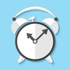 Vector alarm clock web icon
