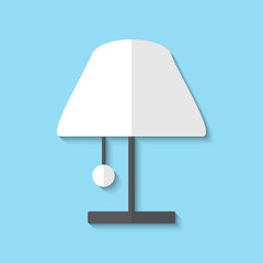 Vector lamp web icon